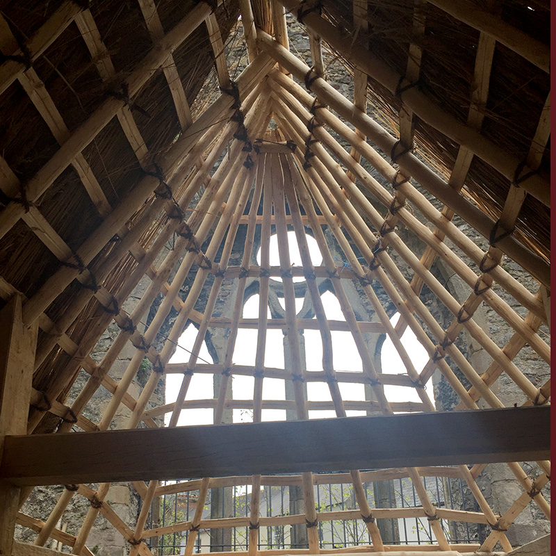 Thatched Interior